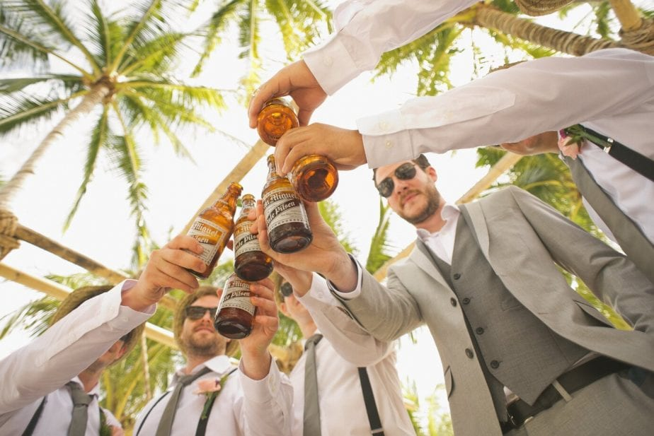 Men Celebrating