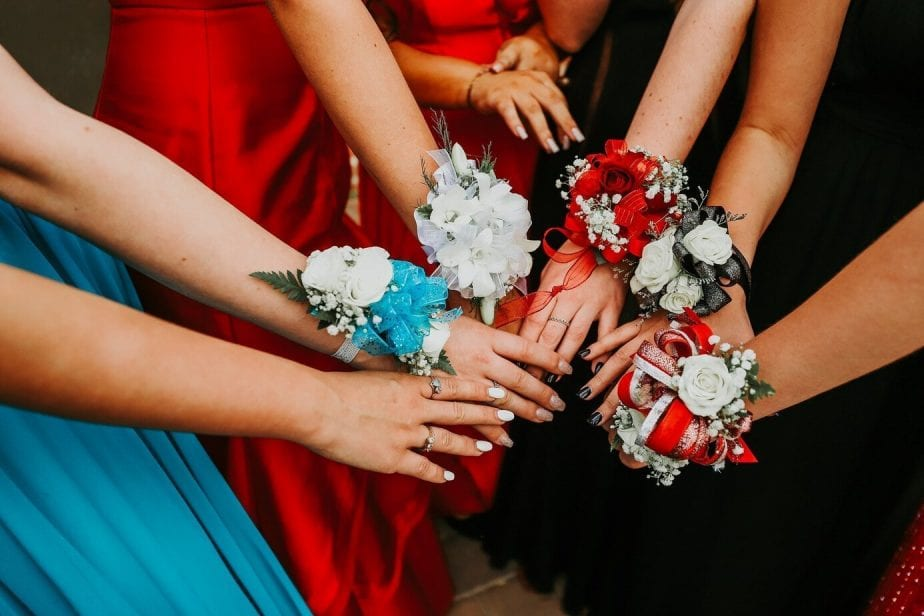 Prom Hands In