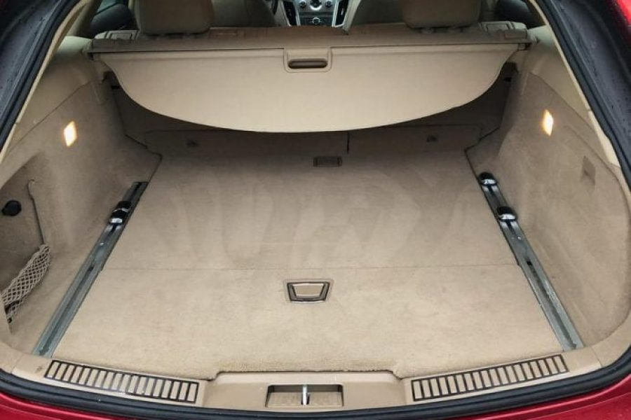 Cadillac CTS Red Trunk