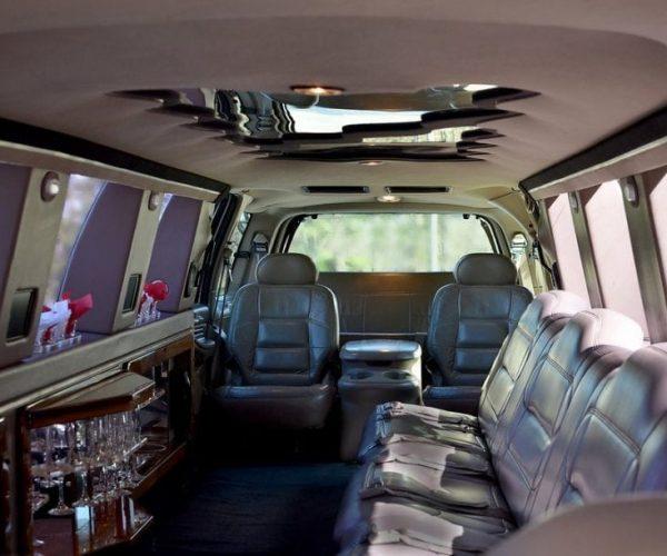 Lincoln Navigator Limo Back Seat