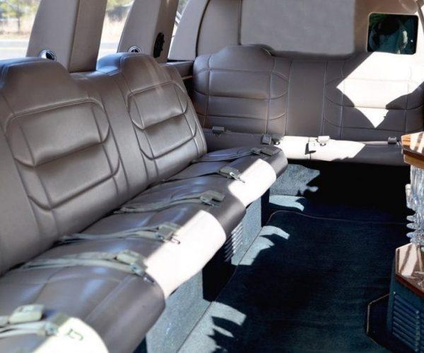 Lincoln Navigator Limo Inside