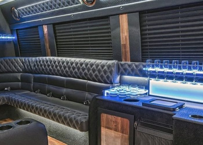 Mercedes Sprinter Party Bus Side View